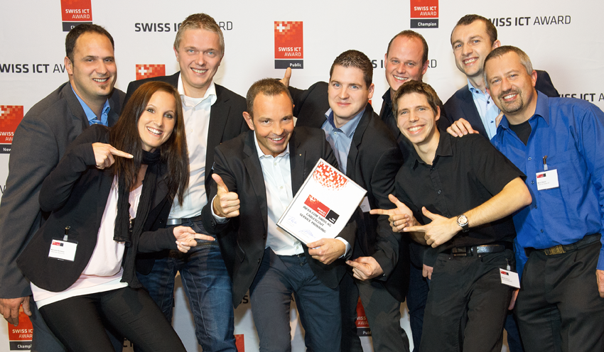 Swiss ICT Awards Infra Com